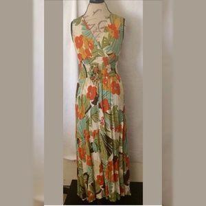 Mlle Gabrielle Maxi Dress Size 10 Sleeveless